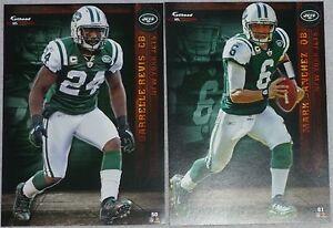 2012 NFL FATHEAD TRADEABLES Lot 2 Darrelle Revis Mark Sanchez New York Jets