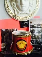 VERSACE MEDUSA WARMER COFFEE pot CANDLE LIGHT NEW  AUTHENTIC RETAIL $500