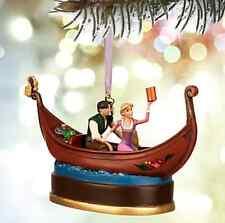 Disney Store Rapunzel & Flynn Singing Sketchbook Ornament Musical 2015 Tangled