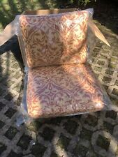 Frontgate Outdoor Kensington Club CHAIR Cushions color- F 951
