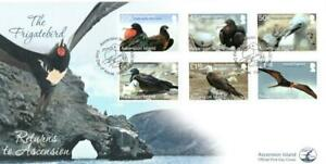 ASCENSION 2013 16TH AUG FRIGATEBIRD  FIRST DAY COVER