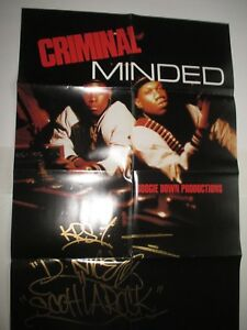 BOOGIE DOWN PRODUCTIONS Criminal Minded Poster 3' X 2'