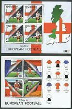 GIBRALTER 2000 EUROPEN FOOTBALL MINISHEETs MNH FREE SHIPPING AT FACE BIN GB£3.30