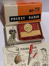 VINTAGE Crystal Germanium RADIO  AM(MW)- BAND FROM 1950s-1960S-+BOX
