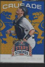 CHRIS OKEY  2015 PANINI USA STARS AND STRIPES CRUSADE CARD #20