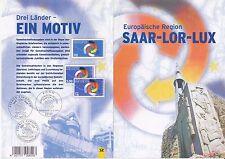 BRD Bund Erinnerungsblatt EB 3 1997 MiNr. 1957 SAAR - LOR - LUX senkr.Paar