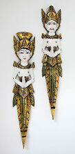 RAMA and SITA WALL DECOR traditional Balinese Gold leaft hand carved ornaments