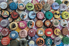 100 Mixed Homebrew Beer Bottle Crown Caps (85 DIFFERENT!) Rare Unique Home Brew