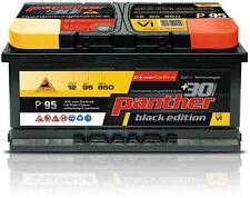 Autobatterie 95Ah Panther Black Edition +30% 12V 95Ah 850A P+95T Starterbatterie