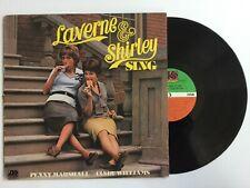 Laverne & Shirley Sing - 1976 - Tv Theme Novelty Vinyl Lp+bonus Cd Tested