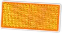 Reflektor Katzenauge Rückstrahler orange 9,4 cm selbstklebend HR Art. 14018