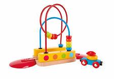 Hape E3811 BEAD MAZE Arc-en-piste en bois Train Accessoires bébé enfants 18 M
