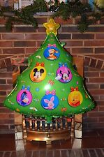 "Christmas Tree Disney Super Shape Helium Foil Balloon Party Star  30"" Green"