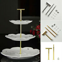 3-Tier Fruit Tray DIY Silicone Mold Dessert Cake Stand Holder Wedding Party Deco