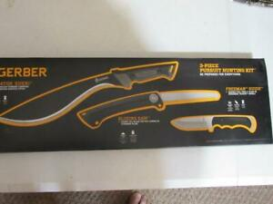 Gerber Pursuit Hunting kit, Knife/Saw set, New in Box