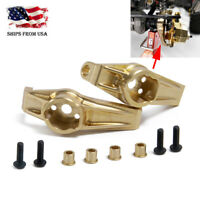 2Pcs Brass Front C-Hub Carrier 68g Upgrade for Traxxas TRX-4 1/10 RC Crawler US