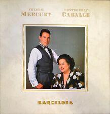 Freddie Mercury & Montserrat Caballé Barcelona LP 1988