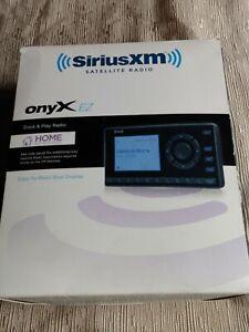 Sirius XM Satellite Radio Onyx EZ Home Kit Model XEZ1H1  Open Box Never Used
