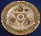 Antique Unknown Porcelain Dragon in Compartments Kylin Pattern Plate Porzellan