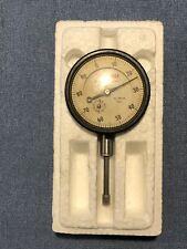 Starrett 25-441 Dial Indicator Jeweled .001