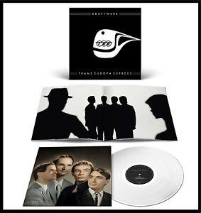 "Kraftwerk ""trans-europa express"" (German Version) limited clear Vinyl LP NEU"