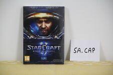 STARCRAFT II 2 WINGS OF LIBERTY PC MICROSOFT NUOVO SIGILLATO ITALIANO BLIZZARD