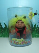 """2005 LADYBUG - 5"""" DAM Troll Doll - USED IN CONTAINER"""