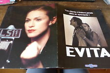 MADONNA - Plan média / Press kit !!! EVITA !!!