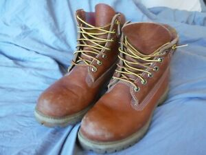 Mens Timberland Work Boots Size 8 W Pre OWned