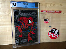 Spider-Man #1 (Aug 1990, Marvel) CGC 9.6 Silver Poly-bag Edition no cover price