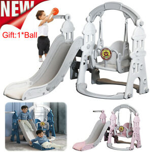 Toddler Climber Slide Swing Set Kids Indoor/Outdoor Playground Boy Girl Toy Gift