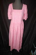 & Other Stories Square Neck Puff Sleeve Midi Dress ~ Size 4 ~ NWT
