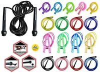 Skipping Rope Nylon Adjustable Jump Boxing Fitness Speed Rope Training Gym 3M