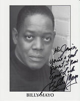 Picture card signed by actor ~ Billy Mayo