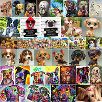 Full Drill DIY 5D Dogs All Diamond Painting Embroidery Cross Stitch Kit Decor