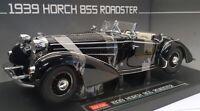 Sunstar 1/18 Scale Diecast - 2401 1939 Horch 855 Roadster Black