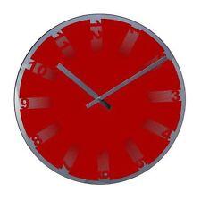 Acctim Glass Round Wall Clocks