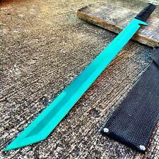 "27"" FULL TANG NINJA MACHETE KATANA SWORD ZOMBIE TACTICAL SURVIVAL KNIFE  P"