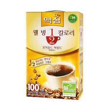 Korean Instant Coffee Mix Maxim Mocha Gold Half Calories 100 Sticks M_o