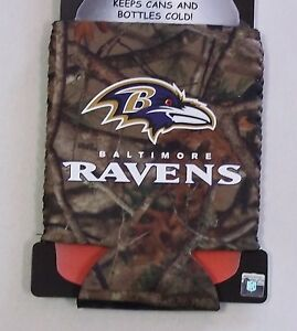 Baltimore Ravens Can Cooler Coozie Koozie Camo