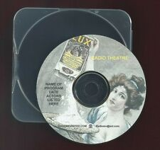 TO THE LADIES Helen Hayes George Brent OTR CD Lux Radio Theater romantic drama