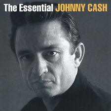 JOHNNY CASH (ESSENTIAL - GREATEST HITS 2CD SET SEALED + FREE POST)