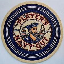Carton sous bock bière cigarettes WWII Players Navy Cut Marine GB UK 2° Guerre