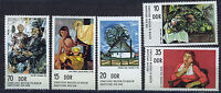 ALEMANIA/RDA EAST GERMANY 1974 MNH SC.1599/1603 Paintings