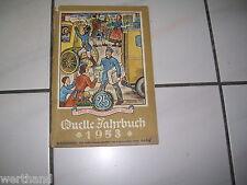 Quelle ´53 Jahrbuch  Großversandhaus Quelle Katalog  1953