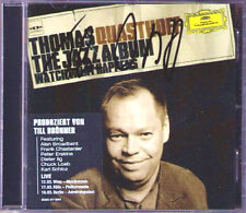 Thomas Quasthoff firmato The Jazz Album Watch What Happens CD Till Brönner
