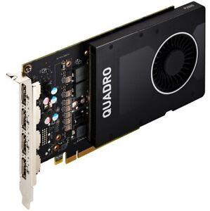 HP NVIDIA Quadro P2000 5GB GDDR5 4x DisplayPort 1.4 - OpenGL - CAD / CAM