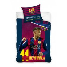 OFFICIAL BEDDING COVER SET BARCELONA POŚCIEL BARCELONA NEYMAR 160x200CM COTTON