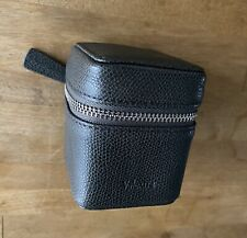 Authentic VALEXTRA Universal Outlet with Leather Case - Smokey Grey - MUST SEE