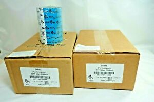 Zebra Performance 5319 Wax Ribbon (05319BK11045) Quantity of 10 total  NEW